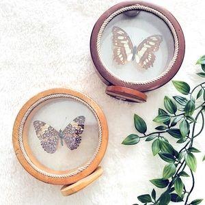Vintage Butterfly Decor